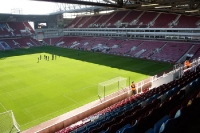 West Ham United im Upton Park in London