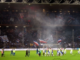 Sampdoria Genua vs. Inter Mailand
