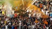 Torcida beim Spiel Hajduk Split vs. NK Osijek