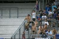 Fans von Austria Wien bei Red Bull Salzburg