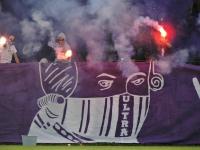 Pyrotechnik bei Austria Salzburg vs. Innsbruck II