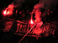 Pyrotechnik bei Austria Salzburg vs. Sturm Graz