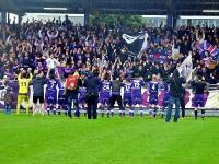 SV Austria Salzburg feiert Sieg gegen FC Hard