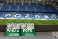 das Onlinemagazin turus.net vor Ort beim Spiel Warta Poznan - GKS Katowice (zweite polnische Liga)