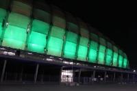 Stadion Miejski (Posen) bei einem Heimspiel von Warta Poznan