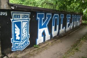 Graffiti von Lech Poznan