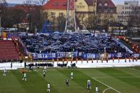 Lech Poznan zu Gast bei Pogon Szczecin
