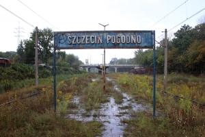 Bahnsteig für Sonderzüge