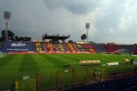 Gästeblock im Florian Krygier Stadion