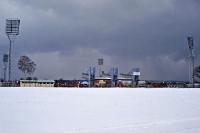 Nebenplatz des Florian Krygier Stadions in Stettin