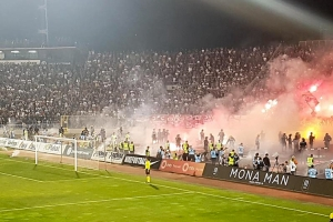 Partizan Belgrad vs. Roter Stern Belgrad