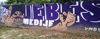 Graffiti des NK Maribor