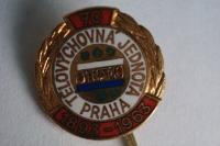 Anstecknadel von Telovychovná Jednota Praha 1893 bis 1963