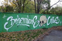 Graffiti bei Bohemians 1905