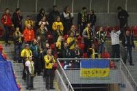 Fans des FC Vysocina Jihlava bei Viktoria Plzen