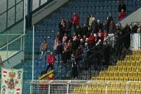 Fans des FC Zbrojovka Brno in Teplice