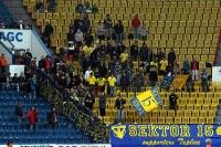 Fans des FK Teplice im Stadion Na Stinadlech