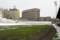 FK Viktoria Stadion des FK Viktoria Zizkov in Prag