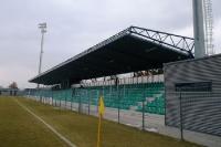 Neues Stadion des FC Chomutov in Nordböhmen