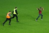 Flitzer des AC Sparta Praha beim Derby beim SK Slavia