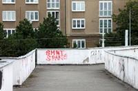 Smrt Sparte (Tod für Sparta), Graffiti in Prag