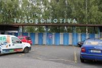 Stadion TJ Lokomotiva in Cheb
