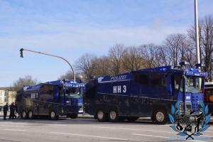 HSV-Marsch zum Hamburger Derby