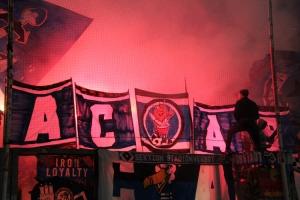 Pyro Show HSV Ultras in Duisburg 2018