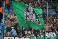 Hannover Fans Torjubel zum 1:1 in Bochum