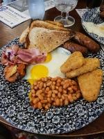 English Breakfast für Hertha-Fans