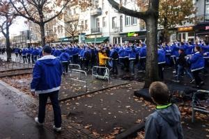 Fanmarsch von Hertha BSC