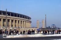 Berliner Olympiastadion: Heimspiel von Hertha BSC