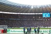 Hertha BSC im Berliner Olympiastadion