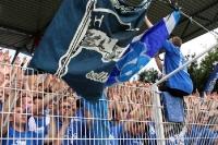 Hertha-Fans beim 1. FC Union
