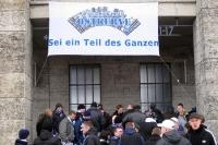 Hertha BSC: Fans vor der Ostkurve