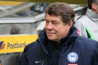 Hertha-Trainer Otto Rehhagel zu Gast in Gladbach