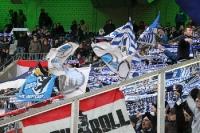 Fans von Hertha BSC zu Gast bei Borussia Mönchengladbach