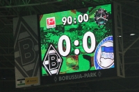 Endstand 0:0, ein Punkt in Gladbach geholt