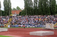 Hertha-Fans im Jahn-Sportpark beim BFC Dynamo