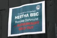Hertha BSC - Borussia Dortmund: Ausverkauft / sold out!