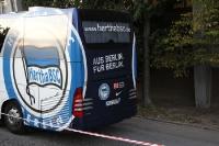 Mannschaftsbus Hertha BSC