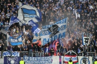 Pyroaktion der Hertha Ultras in Essen