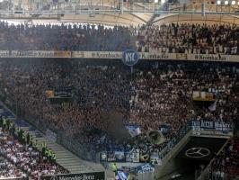 Karlsruher SC beim VfB Stuttgart