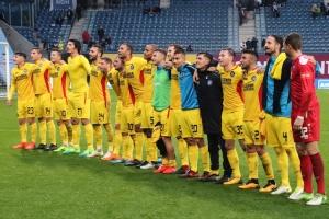 KSC feiert 3:0-Sieg in Rostock