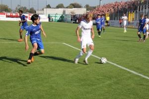 Dennis Grote KFC Uerdingen - Rot Weiss Essen Spielfotos 09-10-2021