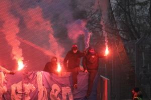 Choreo, Pyro Intro KFC Fans in Essen 2019