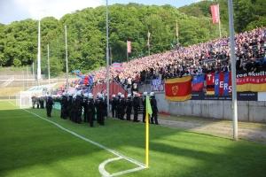 KFC Fans Support in Wuppertal Pokalfinale 2019