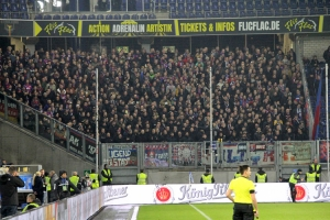 KFC Uerdingen Fan Support in Duisburg