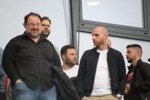 Mikhail Ponomarev und Nikolas Weinhart KFC Uerdingen