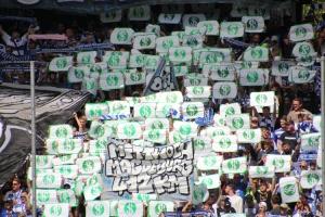 Choreo Duisburg gegen Anstoßzeiten gegen DFL